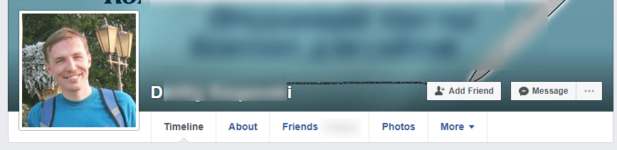 real facebook account