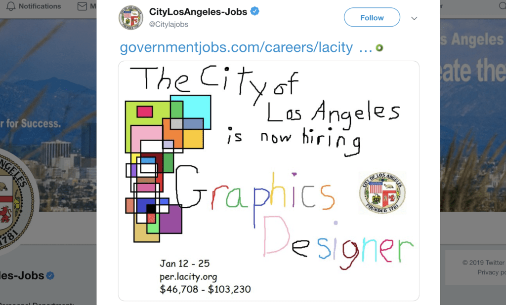 city-of-la-looking-for-designer